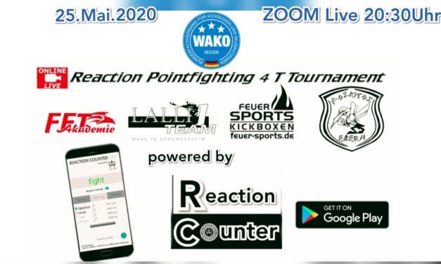 Weltpremiere des ersten Reaction Pointfighting Tournaments